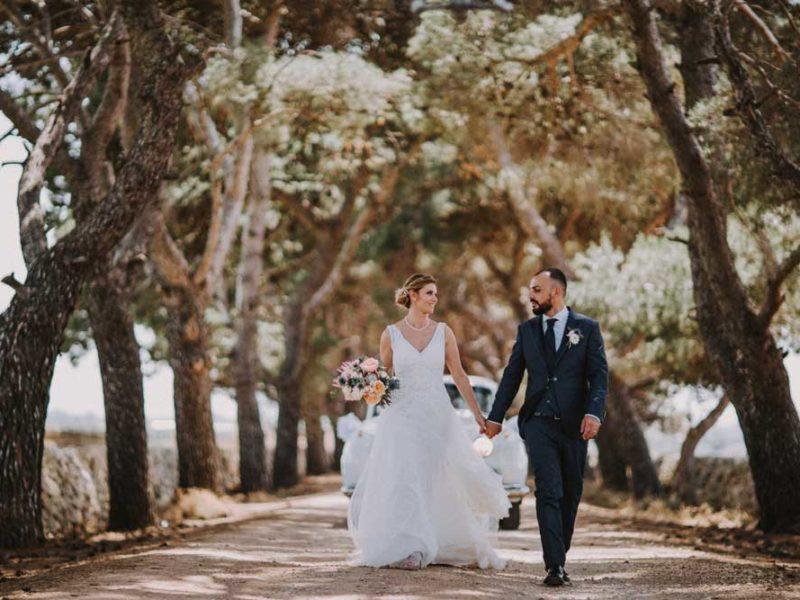 wedding in puglia pasquale e renee passeggiata