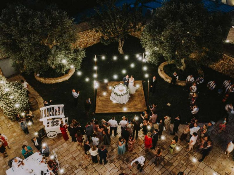 wedding in puglia torta pasquale e renee