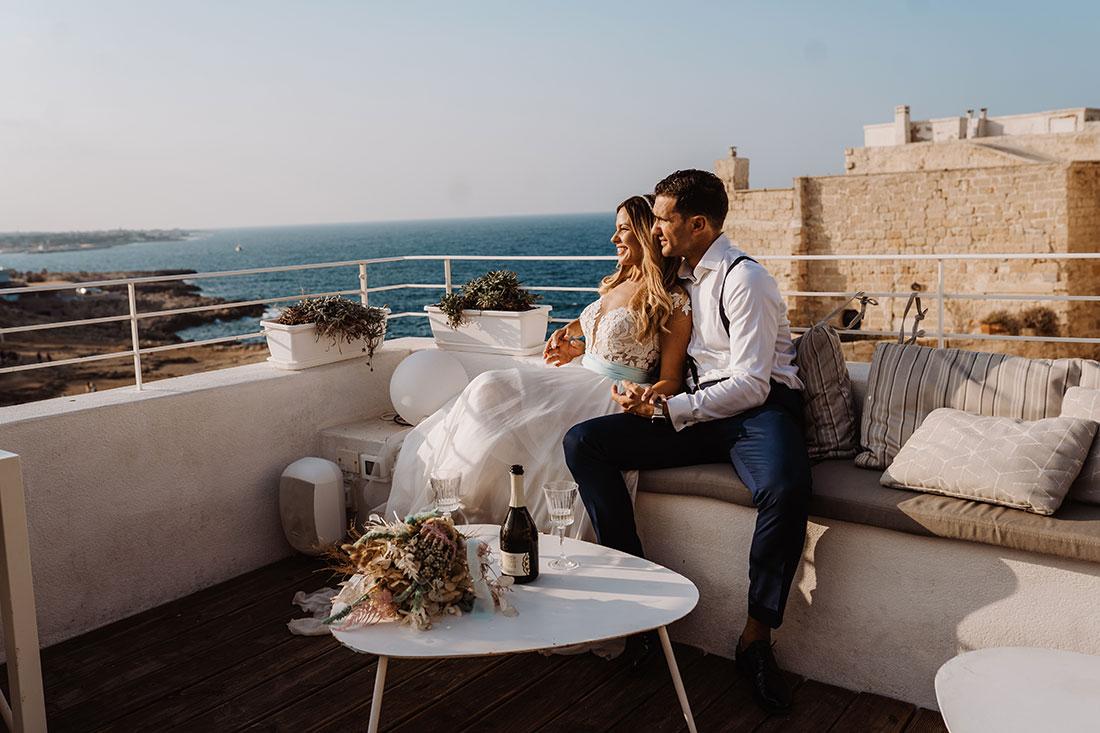 Wedding in apulia Euclide e Annamaria
